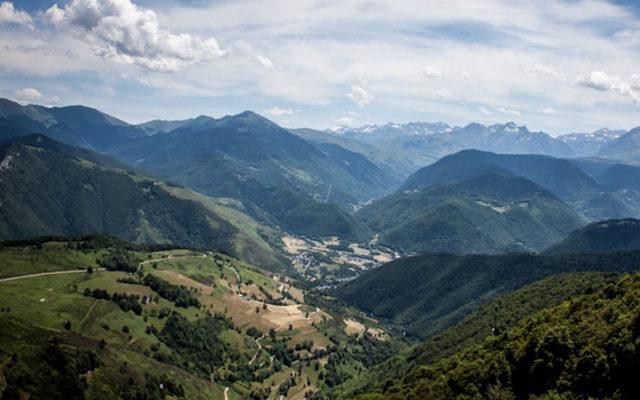 Le Col d'Aspin lors d'un séjour vélo dans la vallée d'Aure. Séjour cyclo à l'hôtel d'Angleterre à Arreau